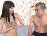 Skinny Asian model Minami Hirahara gets shaved pussy plowed