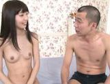 Skinny Asian model Minami Hirahara gets shaved pussy plowed picture 3