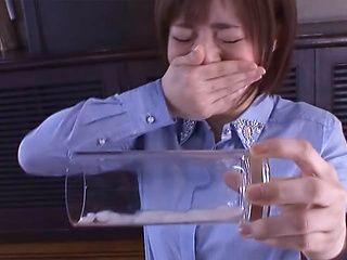 Lustful blowjob by appealing Azusa Itagaki