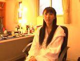 Talented Asian teen girl Yuuki Itano makes a skillful blowjob