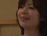 Cum-thirsty Japanese milf Nao Mizuki deepthroats rod on pov video picture 14