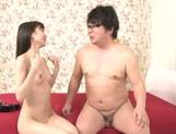 Slim Minami Hirahara pleases horny male in hardcore picture 20