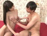Slim Minami Hirahara pleases horny male in hardcore picture 33