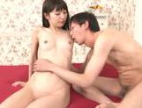Slim Minami Hirahara pleases horny male in hardcore picture 34