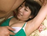 Cute japanese vixen enjoys being licked picture 13