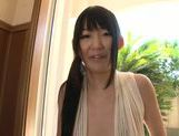 Naughty Kurumi Tanigawa bends over for cock picture 13