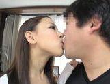 Lovely asian teen enjoying tasty cock in pov picture 30