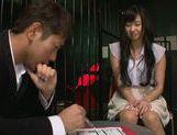 Ball licking with a nice Asian teen Nana Ogura