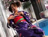 Luna Mikami Lovely Japanese model masturbates