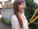 Frisky Japanese AV model is a milf deepthroating hot guy