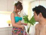 Naughty Hikari Kasumi enjoys dirty massage session picture 12