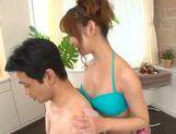 Naughty Hikari Kasumi enjoys dirty massage session