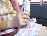 Kinky Japanese teen Arisa Nakano gets screwed in a car