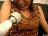Shizu Umemiya Asian babe gives hot blowjob picture 11
