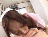 Nurse Rimu Himeno Gives A Blowjob And A Footjob