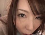 Insatiable Asian milf Yui Hatano gives her boyfriend oral pleasure
