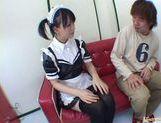 Horny maid Yuki Hoshino gets pounded hard picture 20