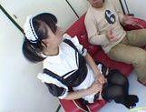 Horny maid Yuki Hoshino gets pounded hard picture 22