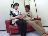 Horny maid Yuki Hoshino gets pounded hard picture 27