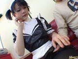 Horny maid Yuki Hoshino gets pounded hard picture 30