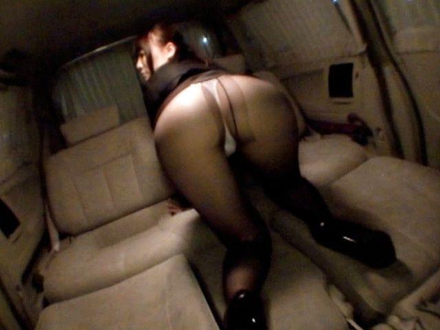 Ebony Teen Blowjob The Car