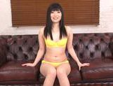 Hina Maeda Squirts From Her Shaved Teen Pussy From a Vibrator
