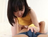 Cute teen with astonishing big tits and nice ass Yuna Aoba gets banged picture 88