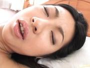 Yuri Sato Asian doll has shaved pussy
