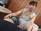 Japanese AV model gives sensual head picture 11