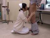Petite amateur babe Mashiro Ayase deepthroats cock on pov video picture 16