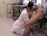 Petite amateur babe Mashiro Ayase deepthroats cock on pov video picture 22
