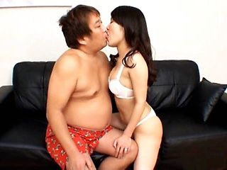 Big Titted MILF Gives A Chubby Guy A Great Blowjob