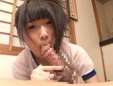 Sexy teen Agasa Itou likes to swallow warm jizz