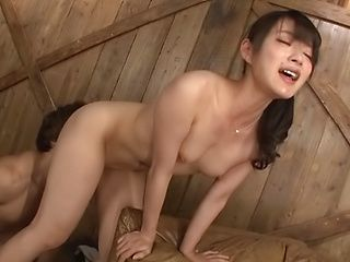 Hakii Haruka ,gets a deserving cum on face