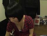 Kinky Asian milf Miku Abeno loves sucking hot wood picture 12