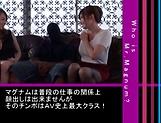 Yumi Kazama and Azumi Chino enjoying a big black schlong picture 15