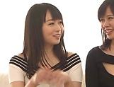 Sexy Hatsuki Nozomi and Aizawa Yurina want to be nailed picture 12