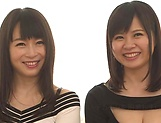 Sexy Hatsuki Nozomi and Aizawa Yurina want to be nailed picture 15