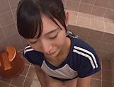 Hoshina Ai is giving an amazing blowjob picture 14
