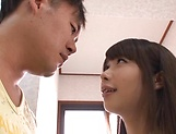Nice teen performs a kinky blowjob picture 14