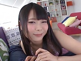 Japanese girl gives insane blowjob in perfect POV