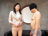 Hot milf, Torii Miki is into facesitting picture 12