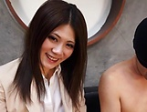 Hot milf, Torii Miki is into facesitting