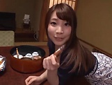 Sweet and sensual Hasegawa Rui excels in sucking dong picture 13
