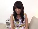 Sweet Japanese sweetie enjoys a kinky head