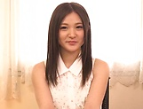 Amateur Yuuki Aina made to suck cock on live cam