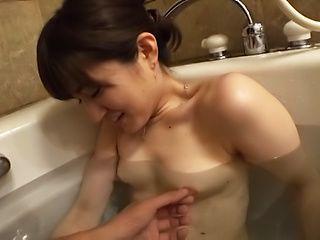 Kinky Japanese hot chick Ishimi Chiharu in hot blowie fun