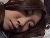 Yukitani Chinami in sensual solo sex toy session