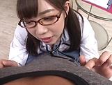 Steamy Asian nurse sucks cock in perfect POV