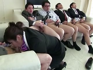 Hayakawa Iori, pleasures multiple dicks